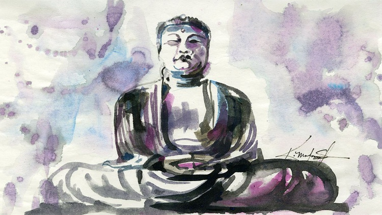From the Buddha Series - Sketch No. 1 - Image 0