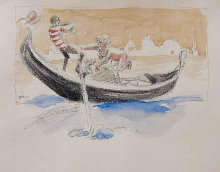 Gondola in fuga -