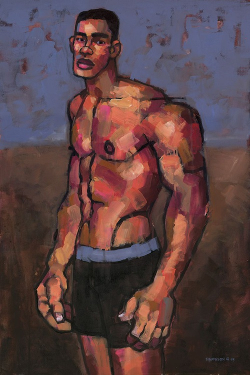 Shirtless Fighter - Image 0