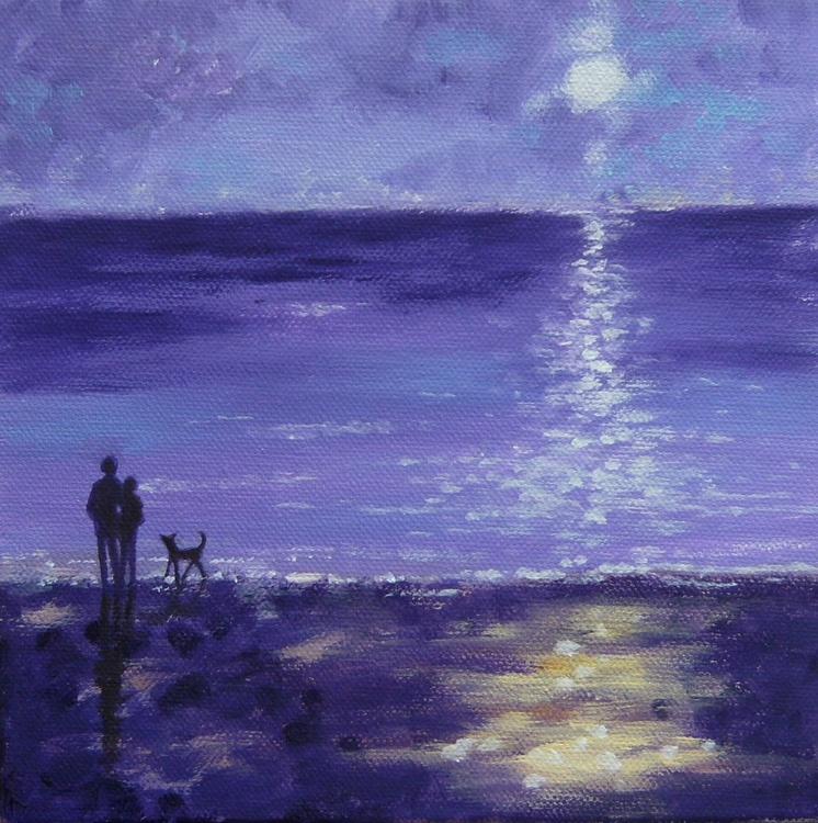 Night at the beach - Image 0