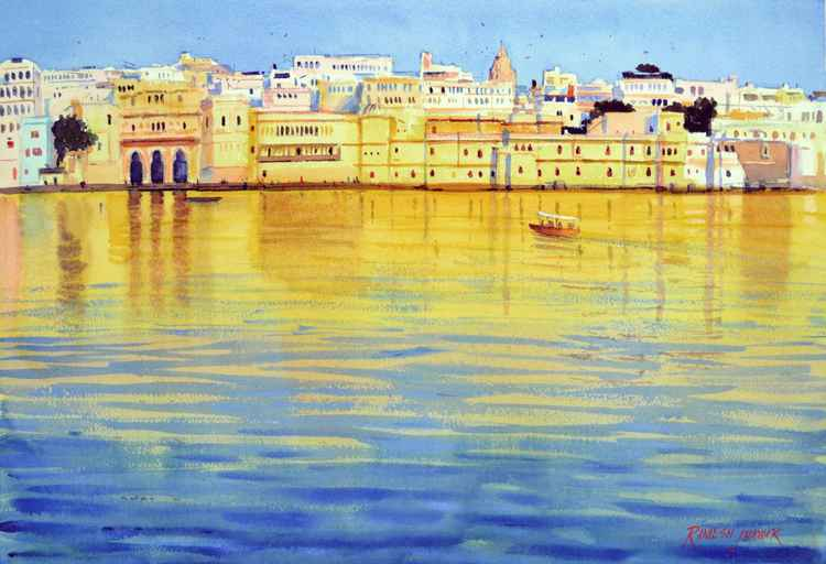 Golden Reflections -