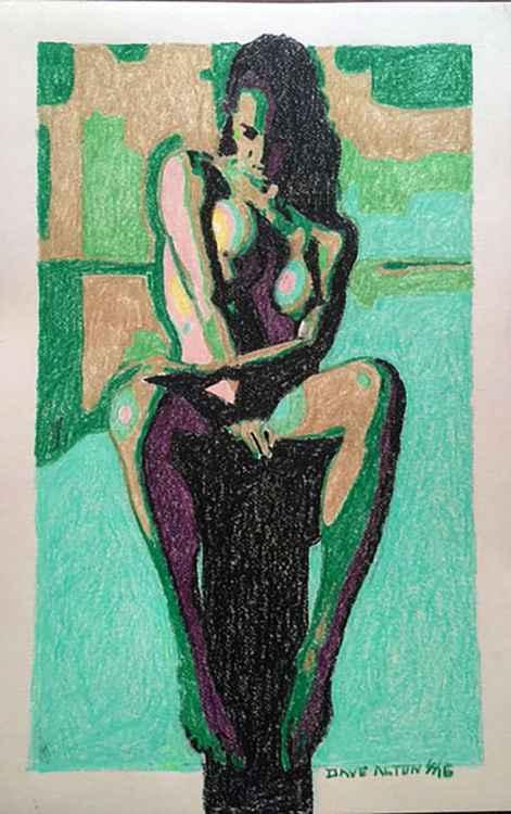 Nude on Pedestal 2