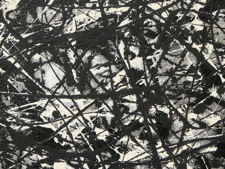 Study in Black Grey & Ivory - Image 0
