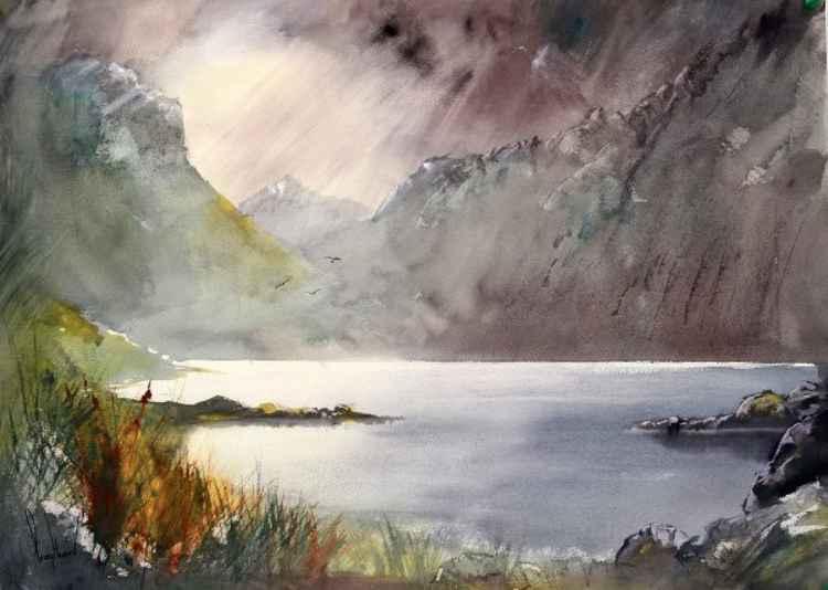 Wasdale, Cumbria #2 - Original Watercolour Painting
