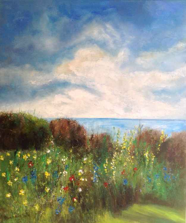 The Meadow by the Sea -