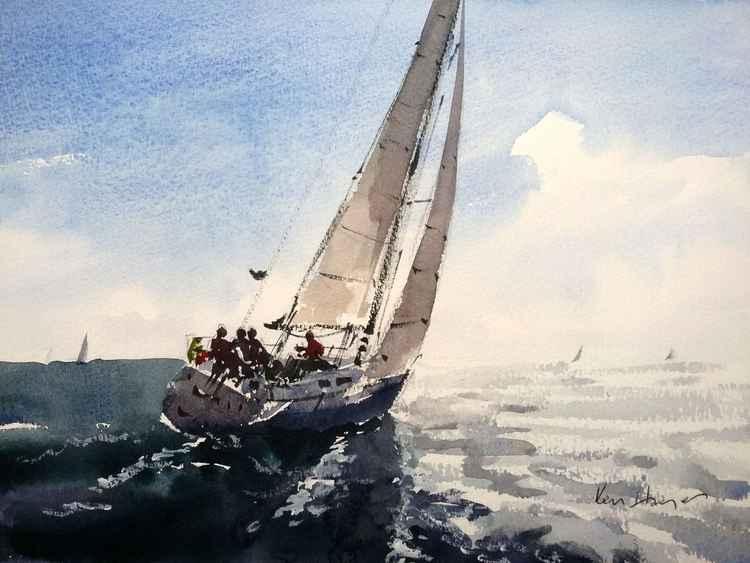 Sailing Into Light -