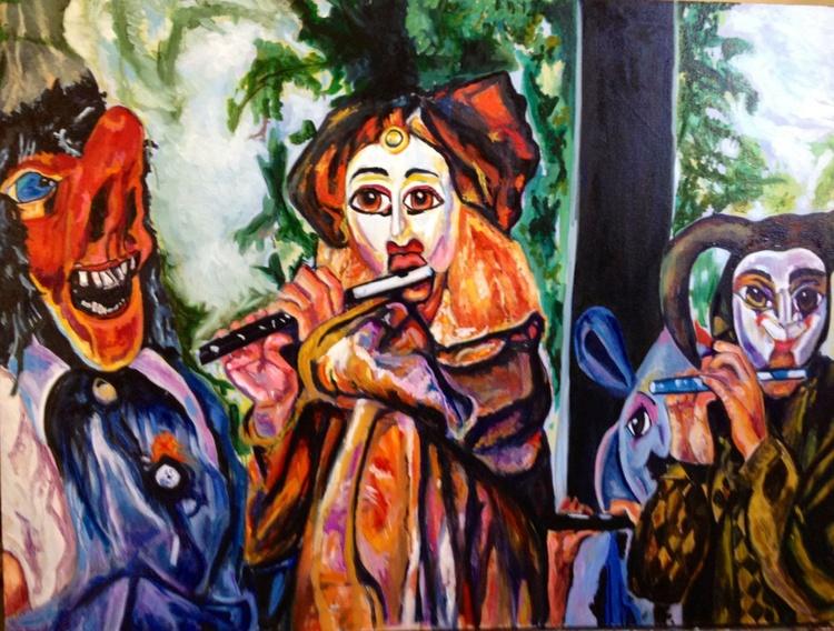 Just Whistle, Street Musicians-Santa Fe - Image 0
