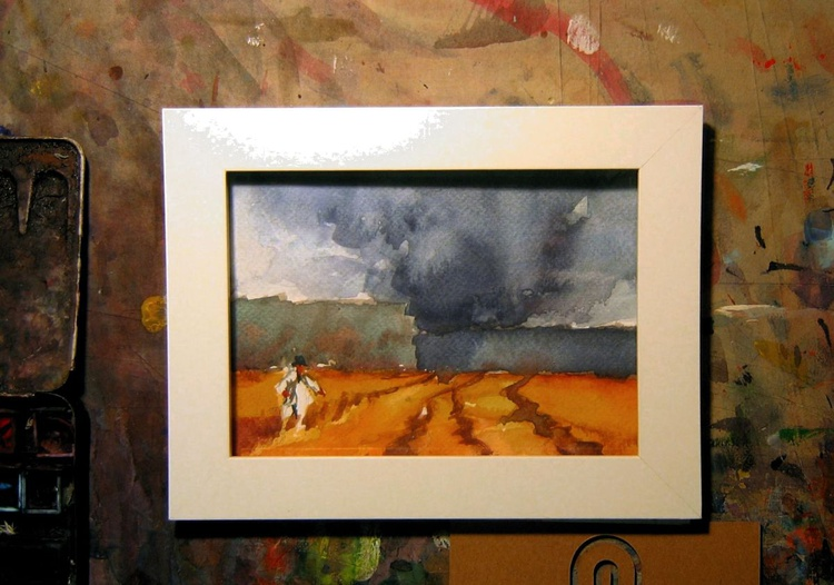 storm over field - Image 0