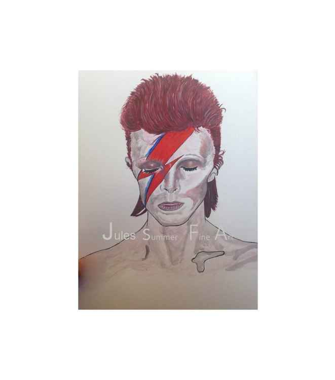 "David Bowie "" Ziggy Thunder bolt"" -"