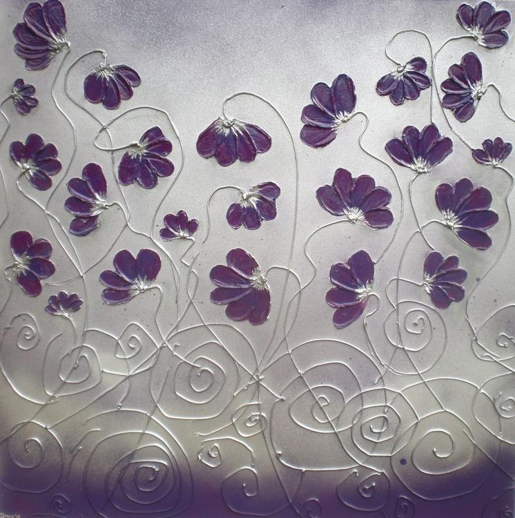Purple Poppy Swirl - Image 0