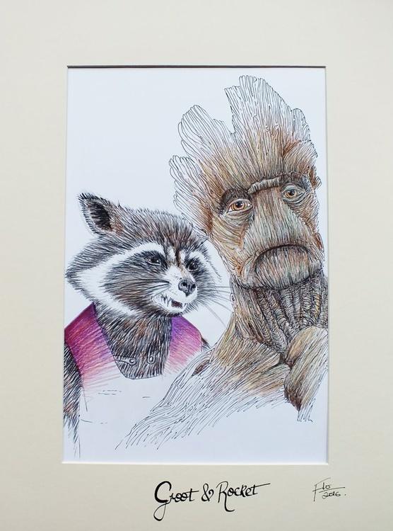Groot & Rocket - Image 0