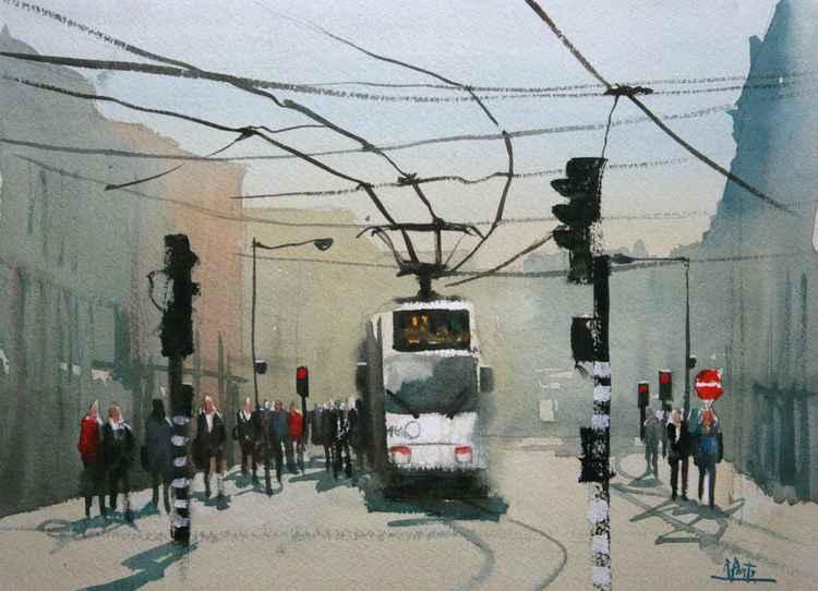 Amsterdam, tram n.5