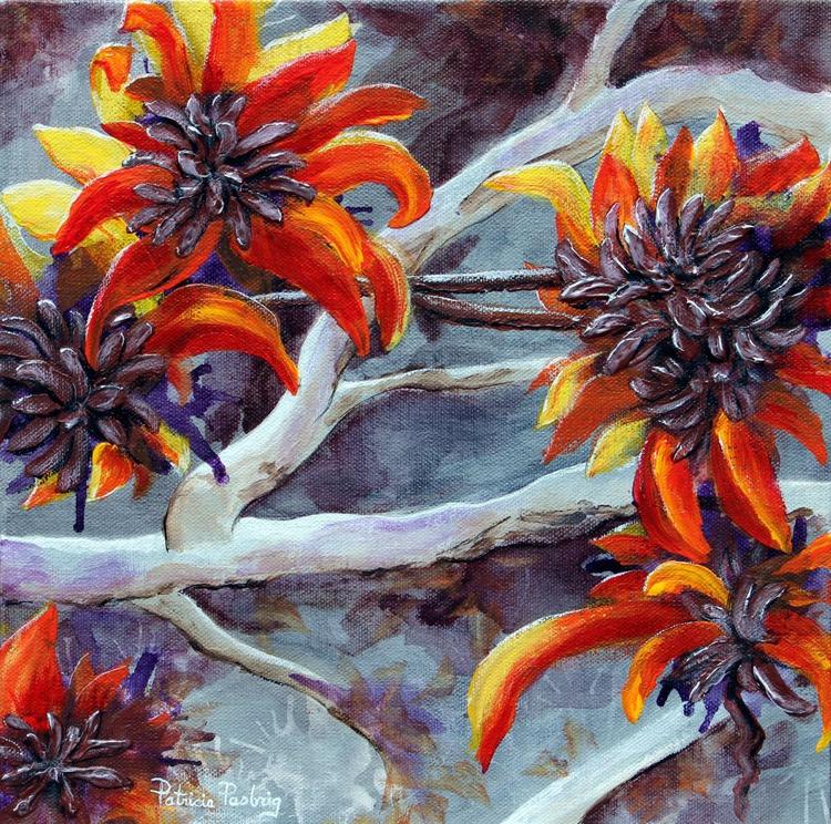 Treed Flowers - Image 0