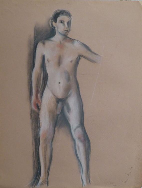 Nude Self-Portrait #2, 65x50 cm - Image 0
