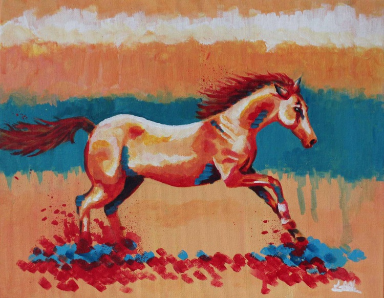 Sprinting Horse - Image 0