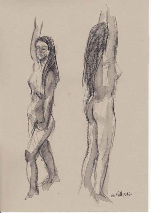 Standing nudes -