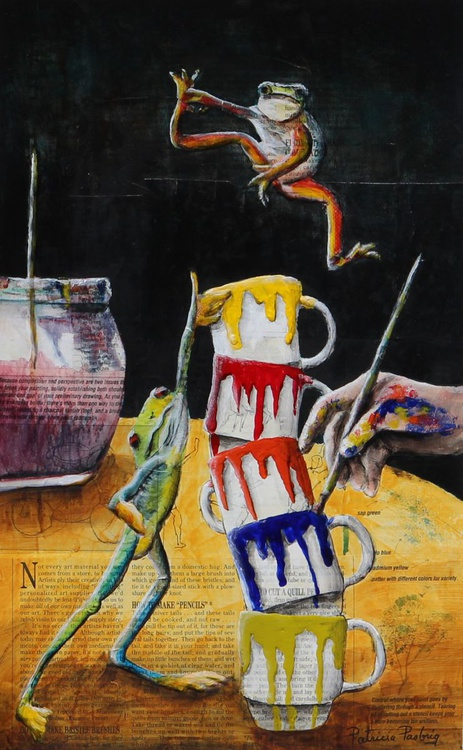 Piccaso's Frogs - Image 0
