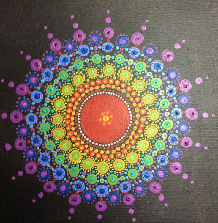 Rainbow Mandala -