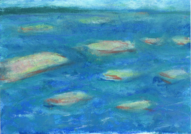 Abstract Seascape in pastel - Image 0