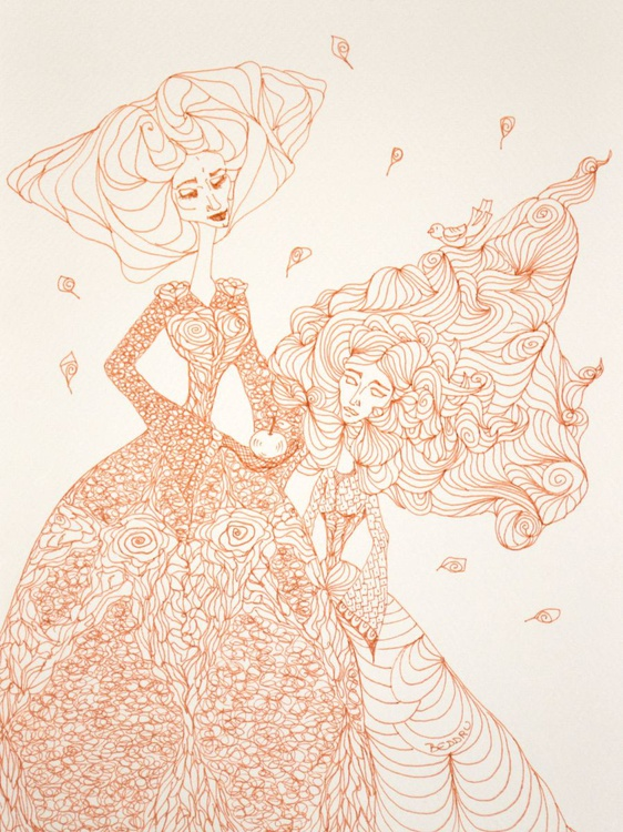 THE QUEEN & THE LONGHAIRED PRINCESS - Image 0