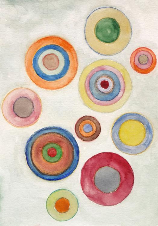 Tower Circles - 21 x 15 cm - Image 0