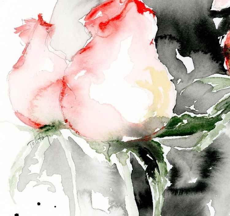 Two Rosebuds -