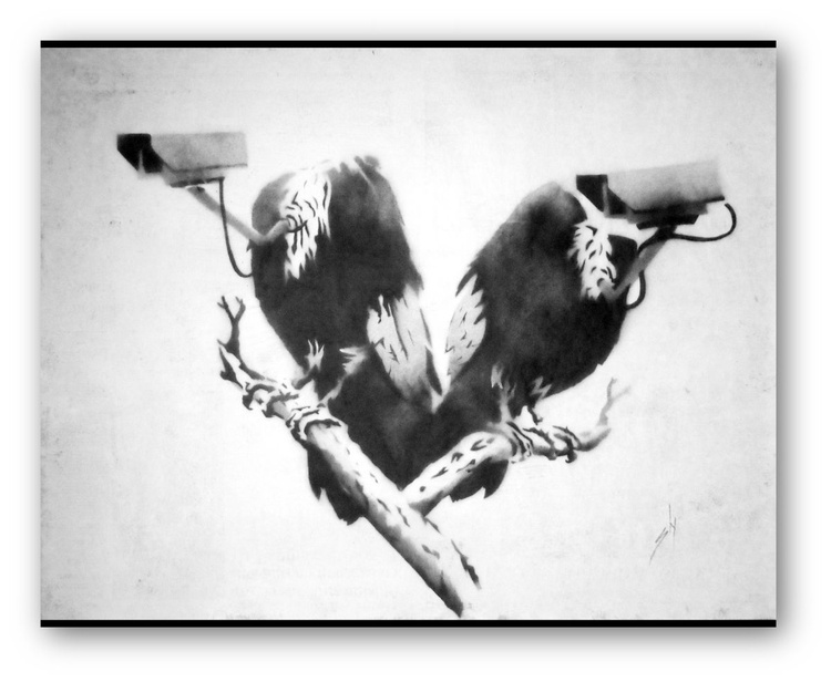 Vulture Surveillance (on The Daily Telegraph) - Image 0