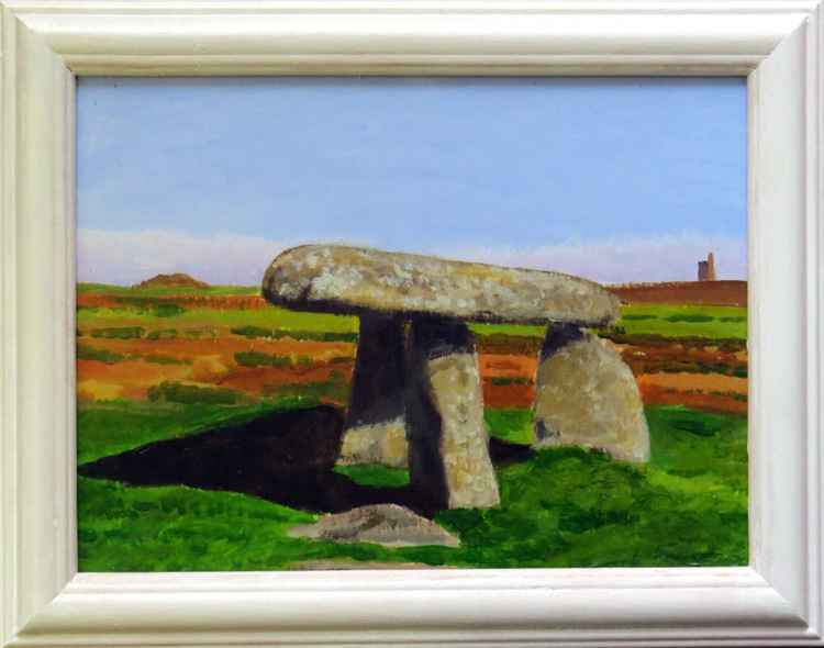 Lanyon Quoit and the Ding Dong mine. -