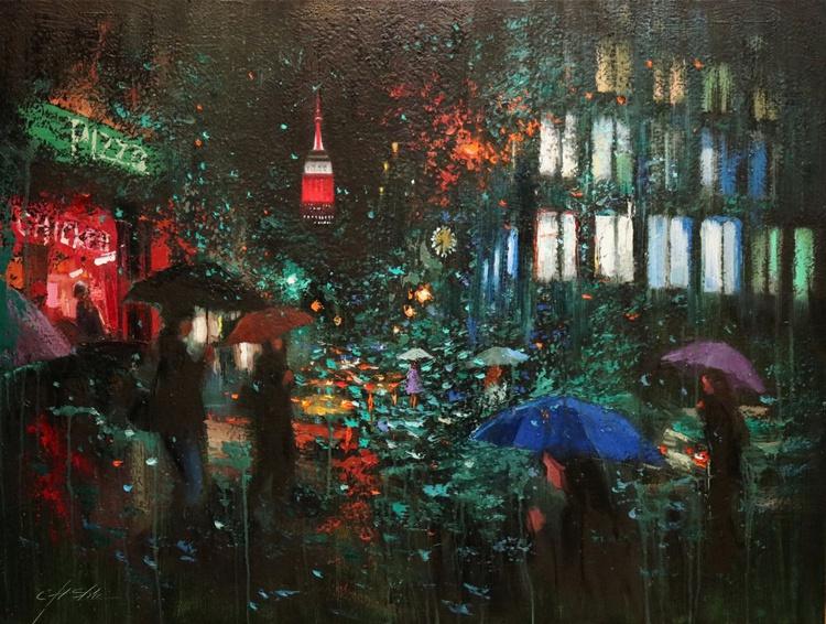 Night Rain in New York - Image 0