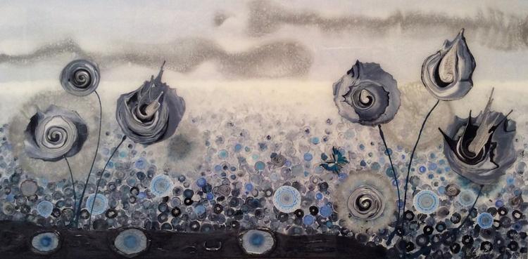 Fleur In Blue - Image 0