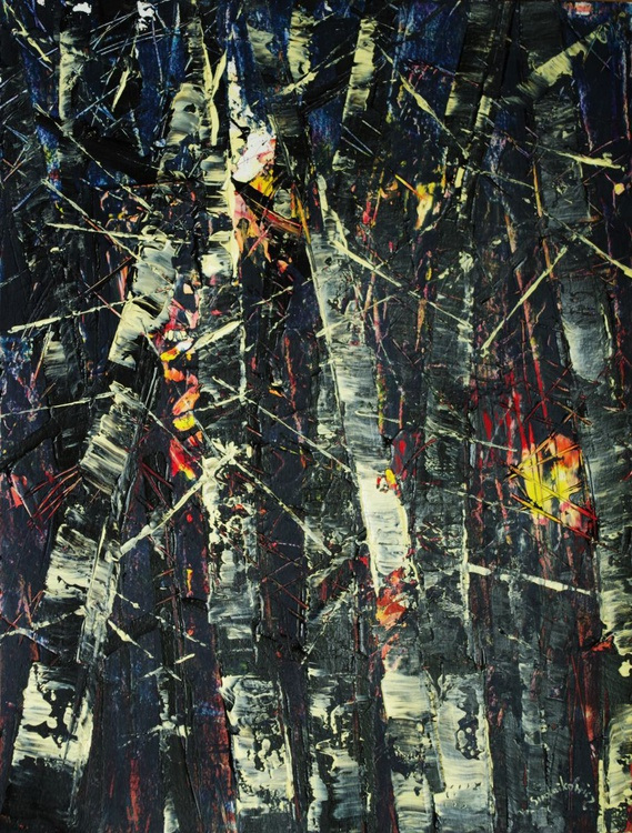 Colours of forest - navy blue - Image 0