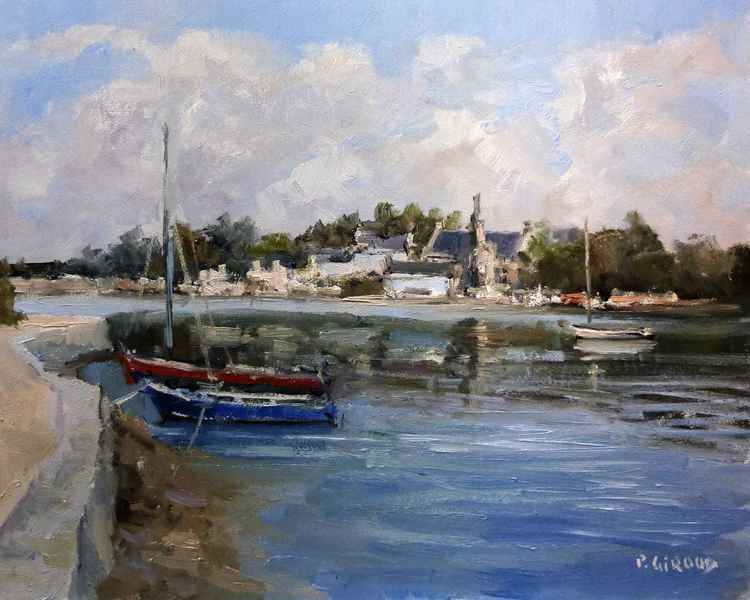 Boats in Brittany -