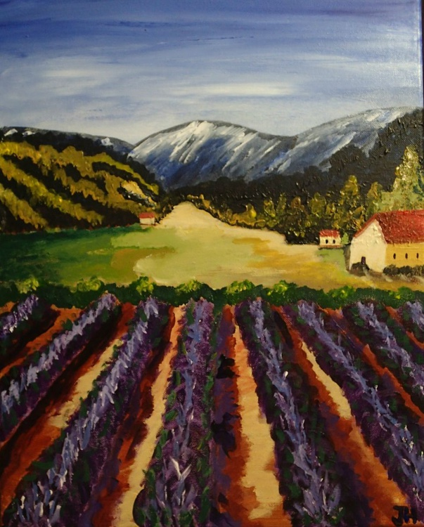 """""""French Lavender Fields"""" - Image 0"""