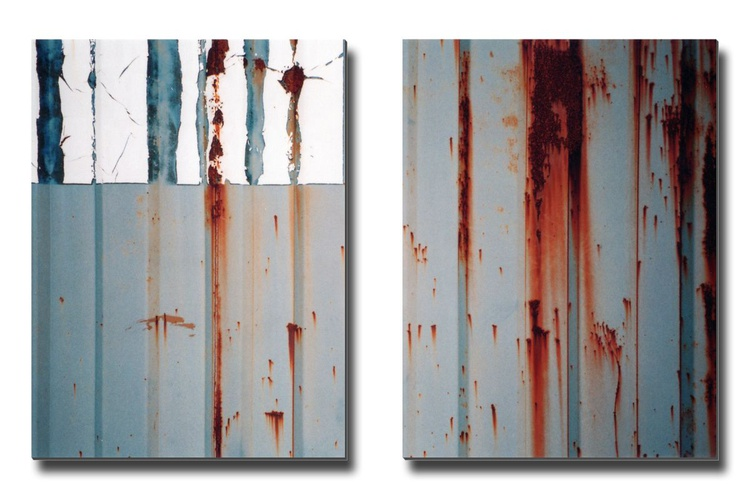 Mingus/Monk - Diptych- Two 16x12in Aluminium Panels - Image 0