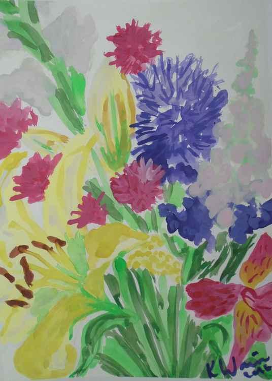 Flower bouquet II -
