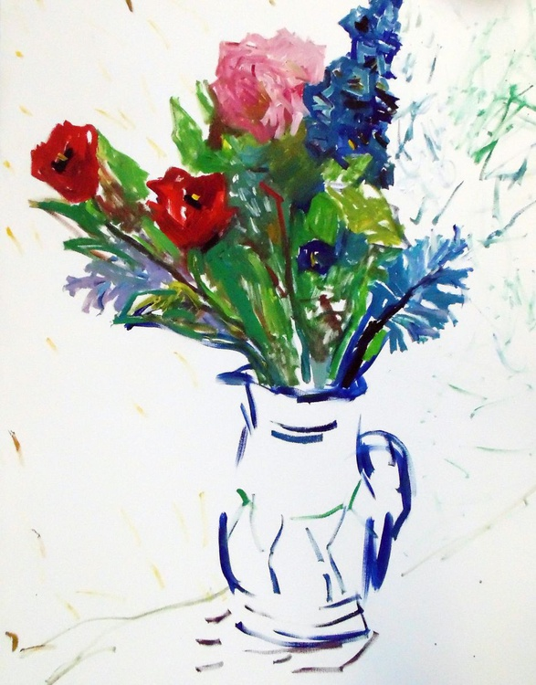 Flowers in the jug - Image 0
