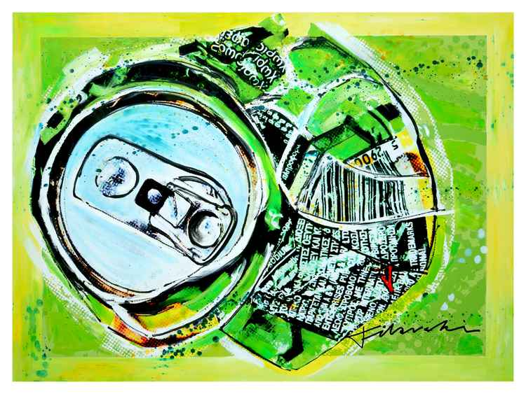 Sprite Crushed Can Series