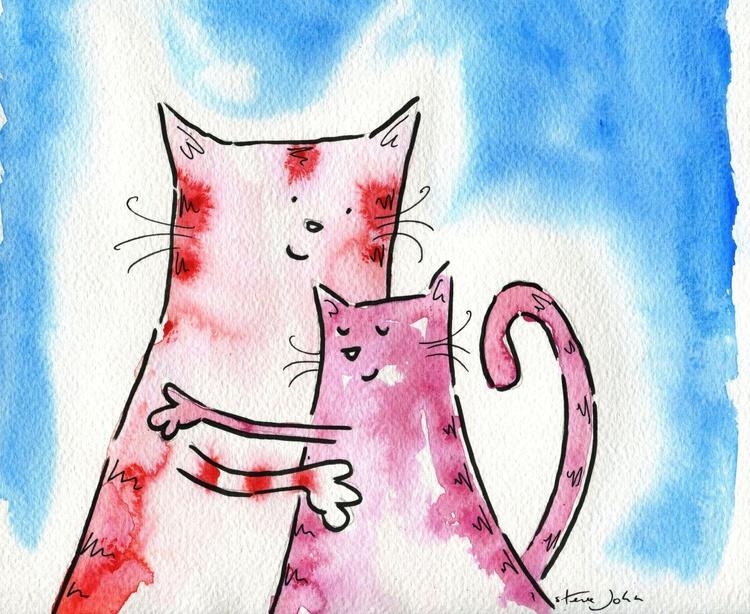 Kitty mum and Kitty kitten - Image 0