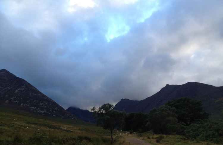Ominous on Arran -