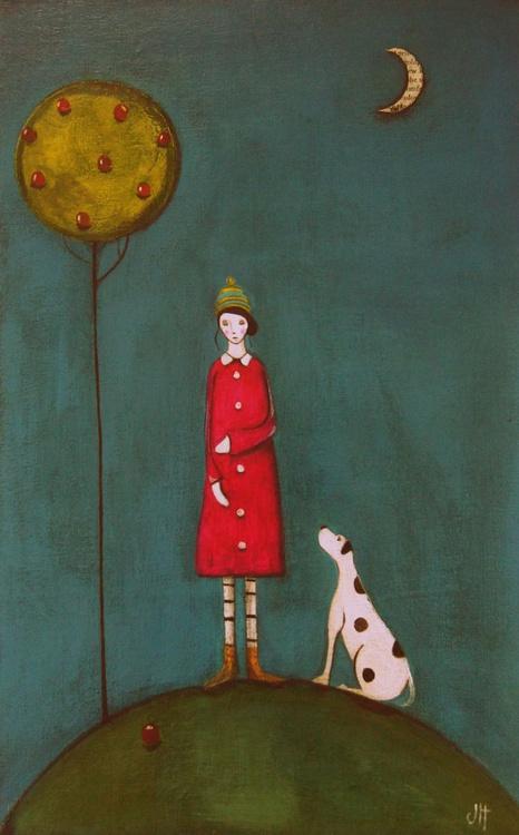 Rachel and Molly (on an autumn stroll).., - Image 0