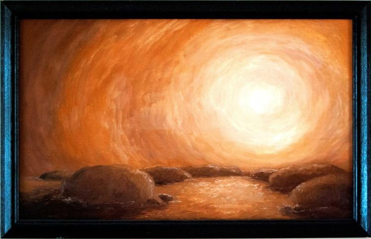 """Sunset Stones"" - Image 0"