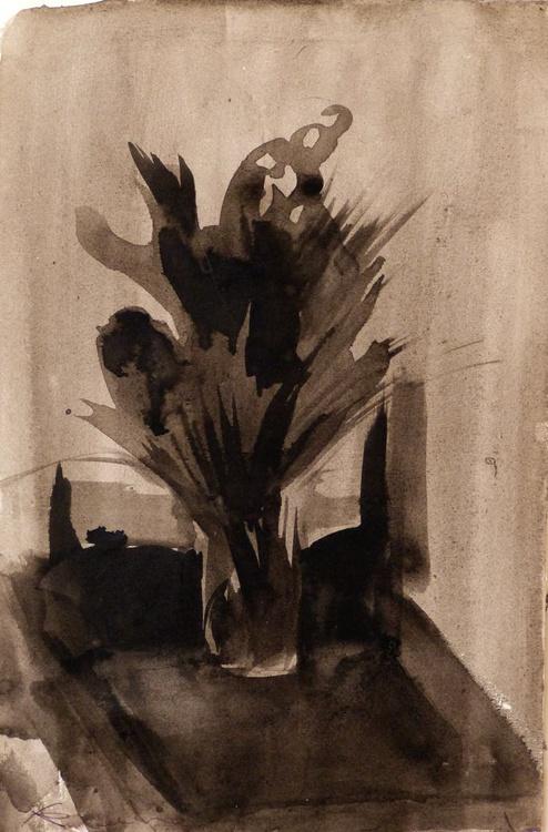 Still Life: Field Flowers, 19x29 cm - Image 0