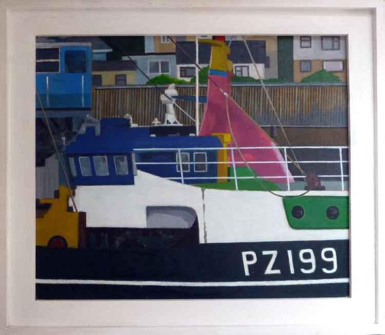 PZ199, Newlyn Harbour.