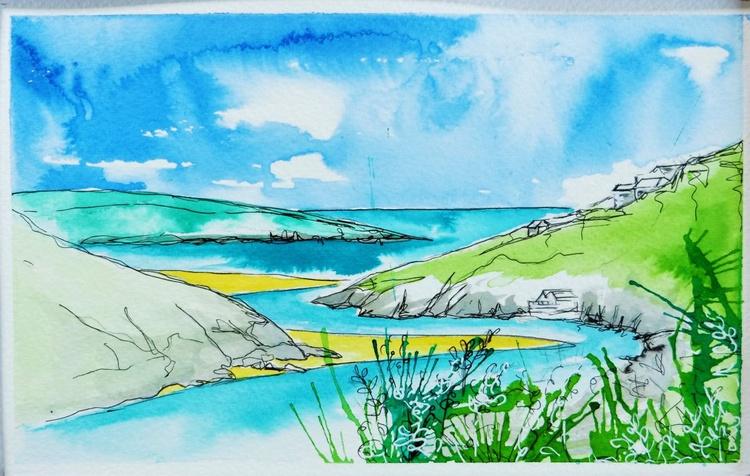 Gannel River Estuary, Cornwall - Image 0