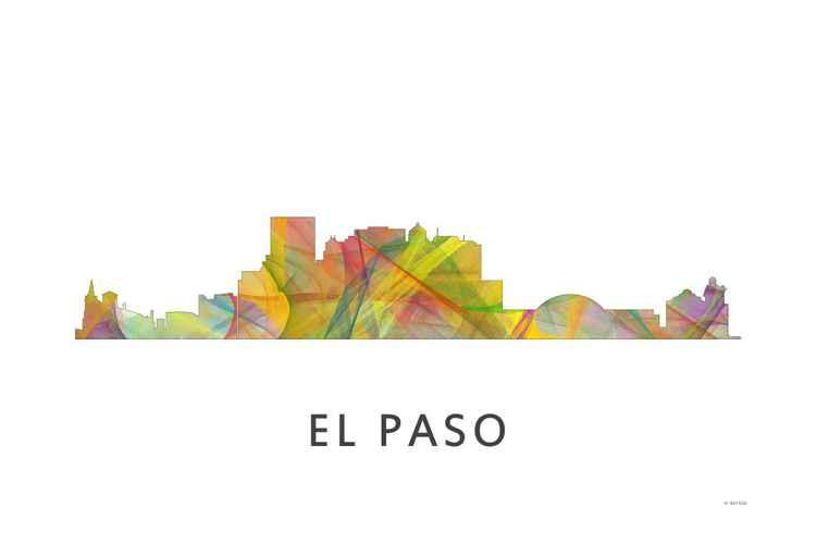 El Paso Texas Skyline WB1