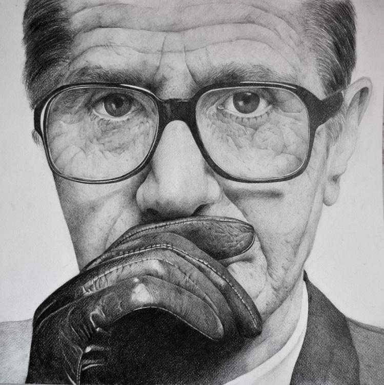 Gary Oldman pencil portrait 3 - Image 0