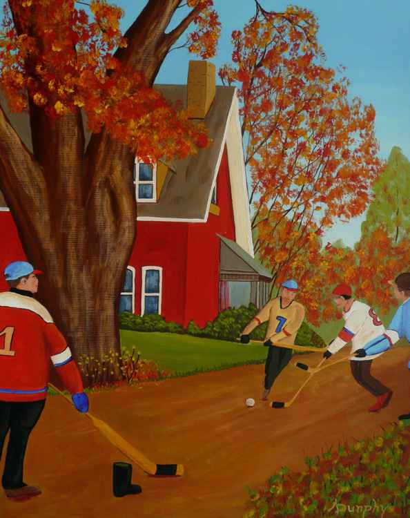 Autumn Street Hockey -