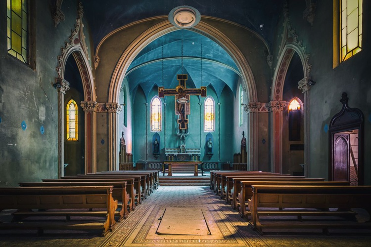 The Blue Chapel - Small - Image 0