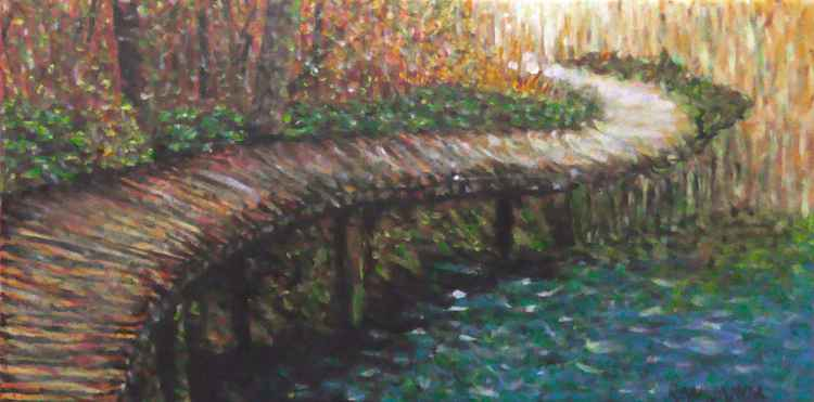 Bridge Over River -