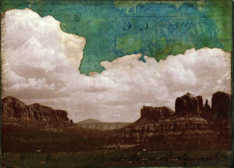 Sedona I, Mixed Media Miniature Art - Image 0